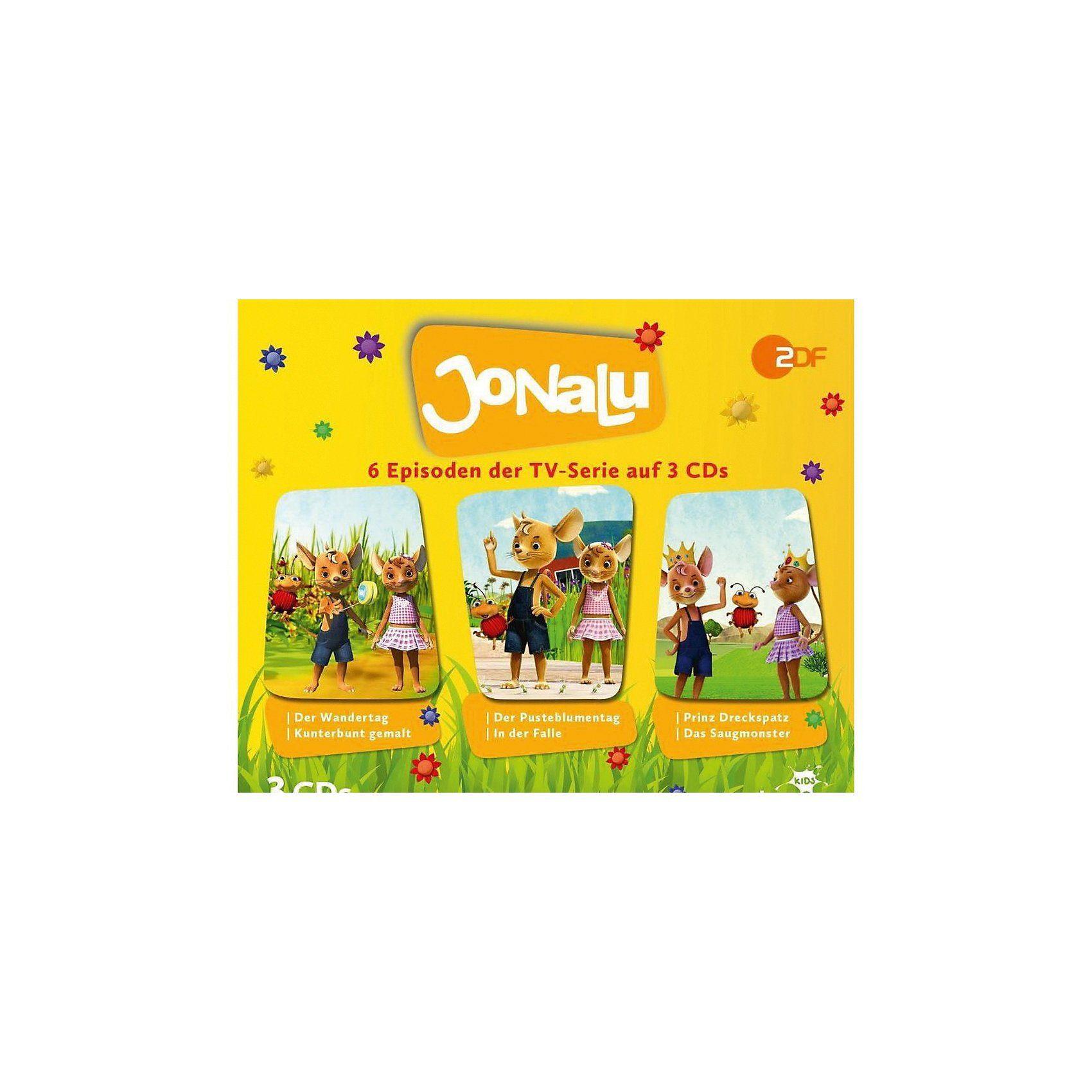 Universum CD Jonalu - Hörspielbox 1 (CD 1-3)