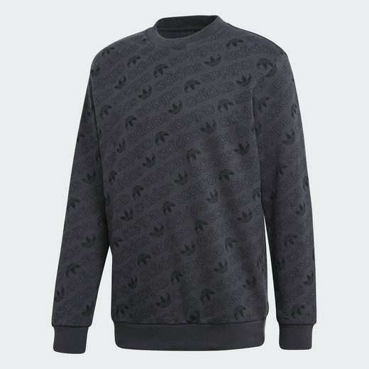 Adidas Originals Longpullover Monogram Sweatshirt