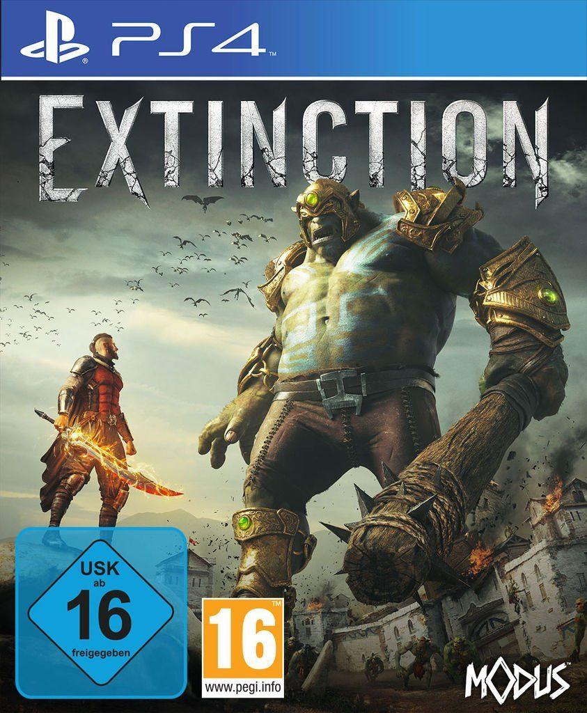 Maximum Games Playstation 4 - Spiel »Extinction«