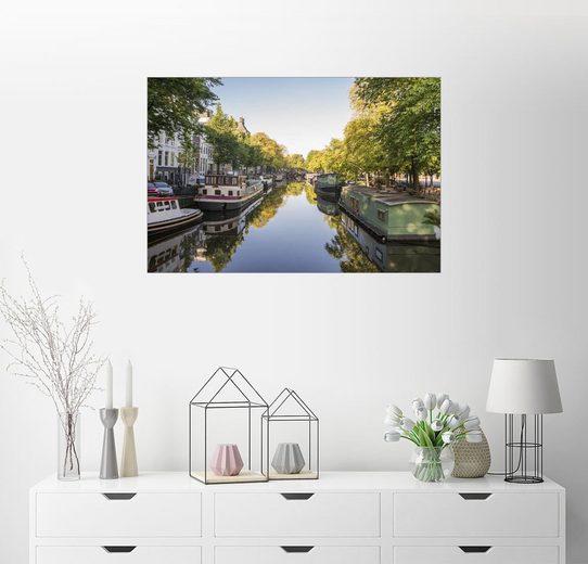 Posterlounge Wandbild - George Pachantouris »Amsterdamer Grachten«