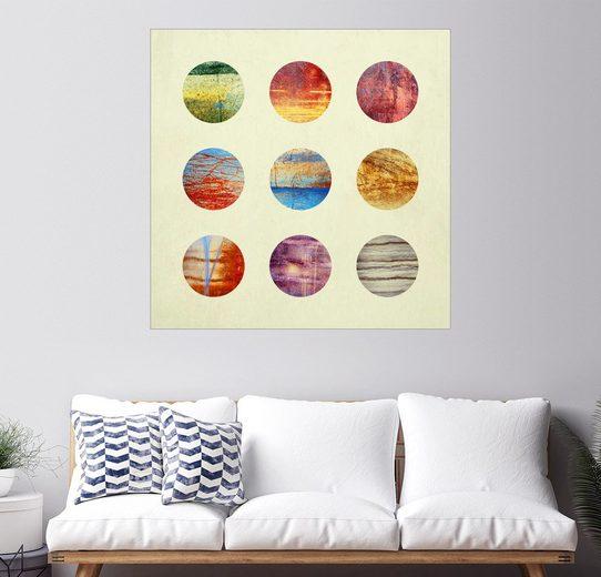 Posterlounge Wandbild - Elisabeth Fredriksson »Planets«