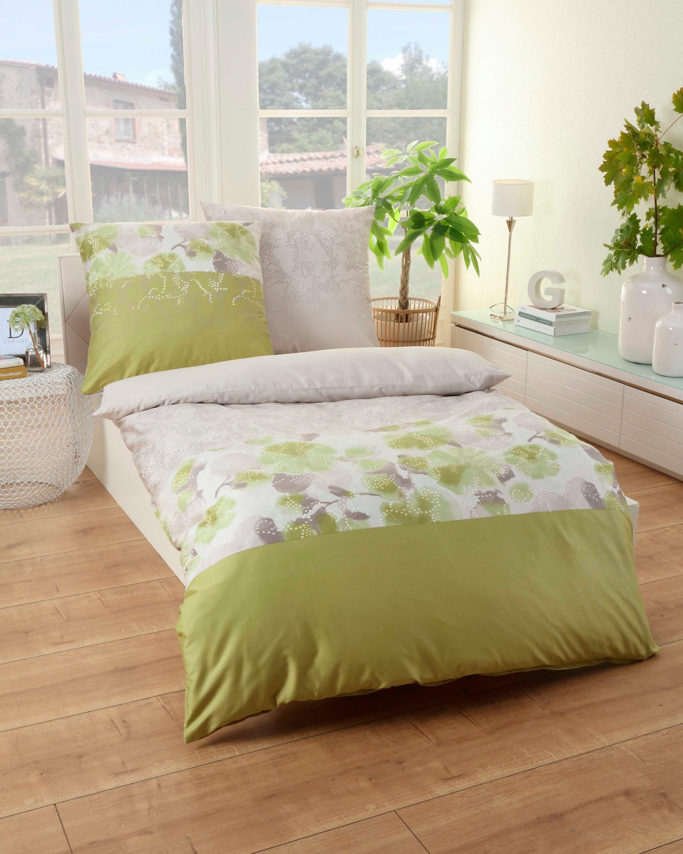 bettw sche microfaser gr n preisvergleich die besten angebote online kaufen. Black Bedroom Furniture Sets. Home Design Ideas