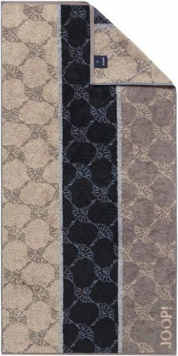 Joop! Handtücher »Cornflower Stripes« (2-St), mit Kornblumen & Streifen