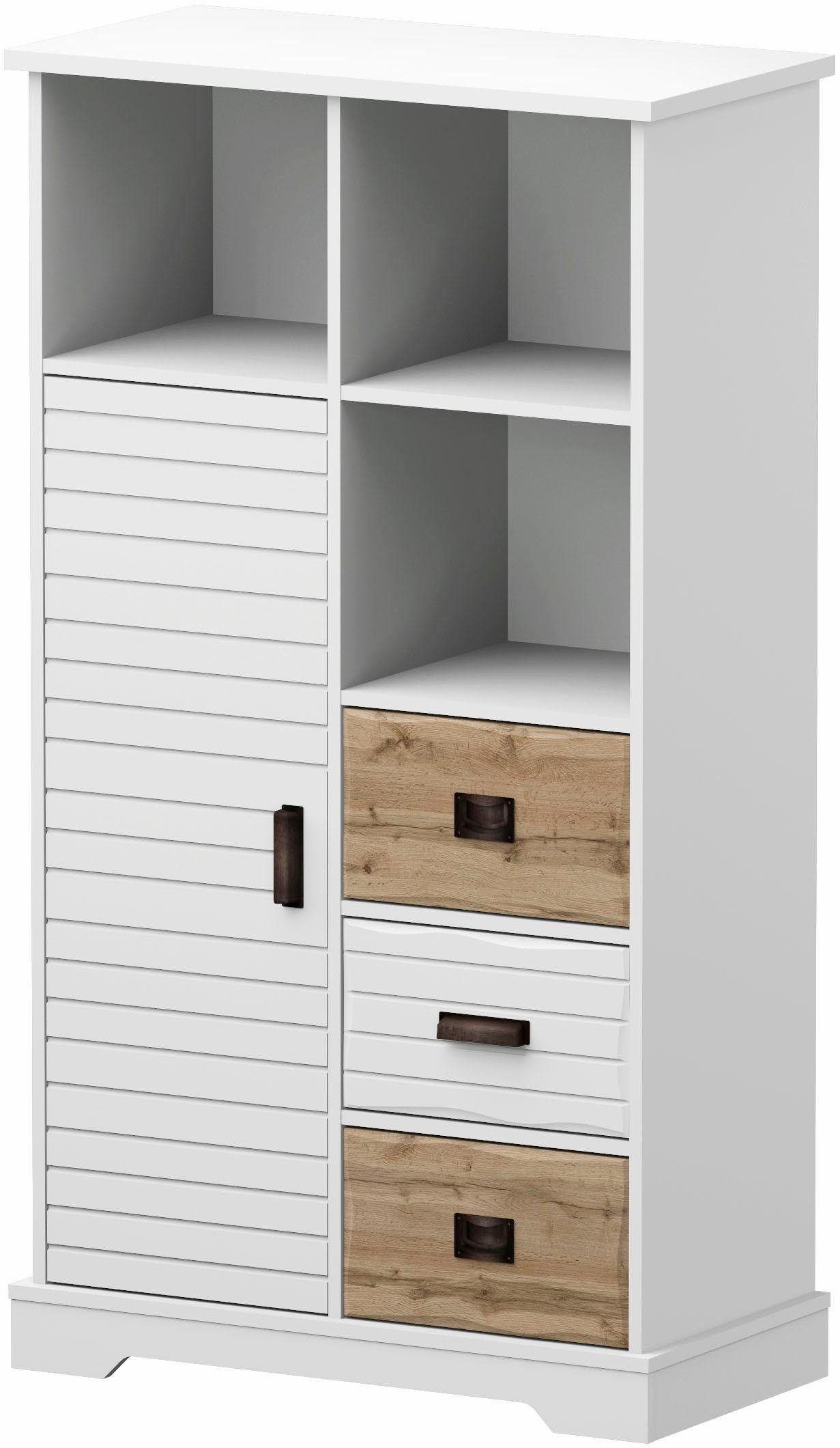 Home affaire Highboard »Arabell«, 1-türig, 82cm breit
