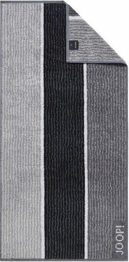 Joop! Gästehandtücher »Lines« (3-St), mit harmonischen Streifen