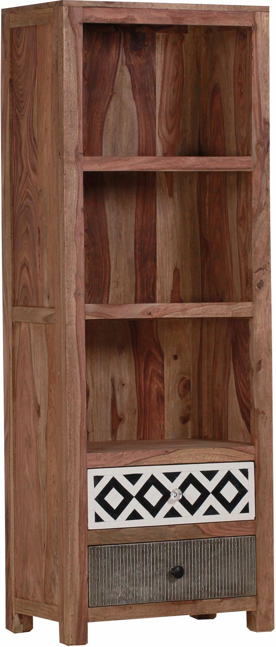 Regal »Safari« aus Sheesham Massivholz , Höhe 180 cm