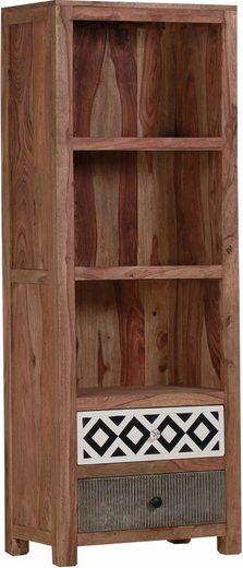 Gutmann Factory Bücherregal »Safari«, aus Sheesham Massivholz, Höhe 180 cm