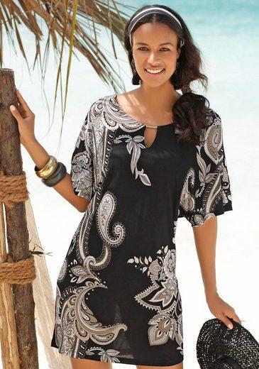 LASCANA Strandkleid mit Zierdetail am Ausschnitt