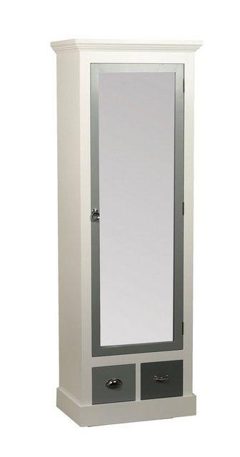 heine home Garderobenschrank mit funktioneller Einteilung weiß   04046884055244