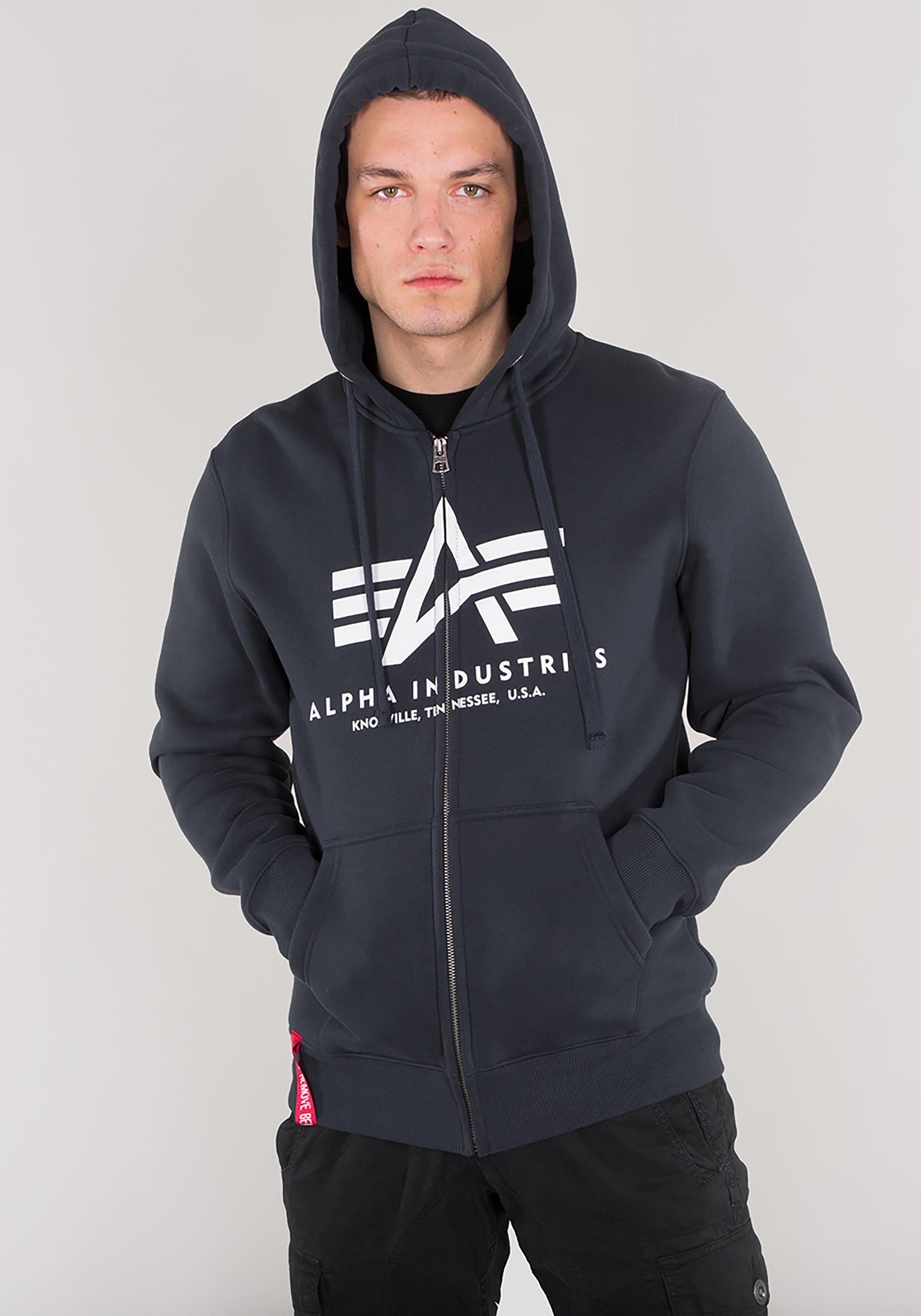 Alpha Industries Kapuzensweatjacke »Basic Zip Hoody« online kaufen | OTTO