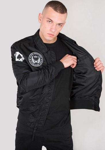 Alpha Industries Bomberjacke Cwu Vf Lw Patch