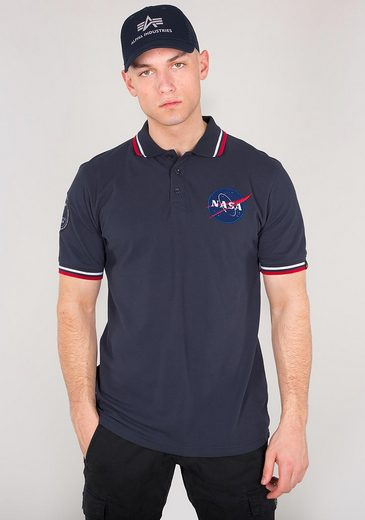 Alpha Industries Poloshirt NASA Polo