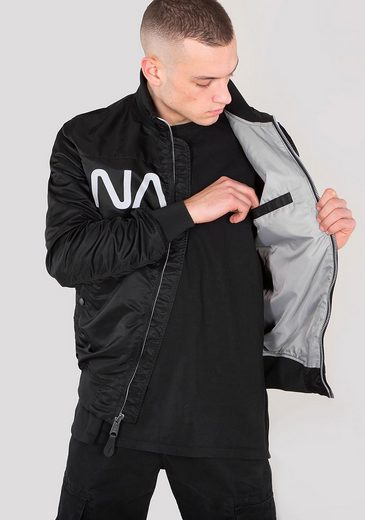 Alpha Industries Bomberjacke Nasa Jacket Flight Nylon