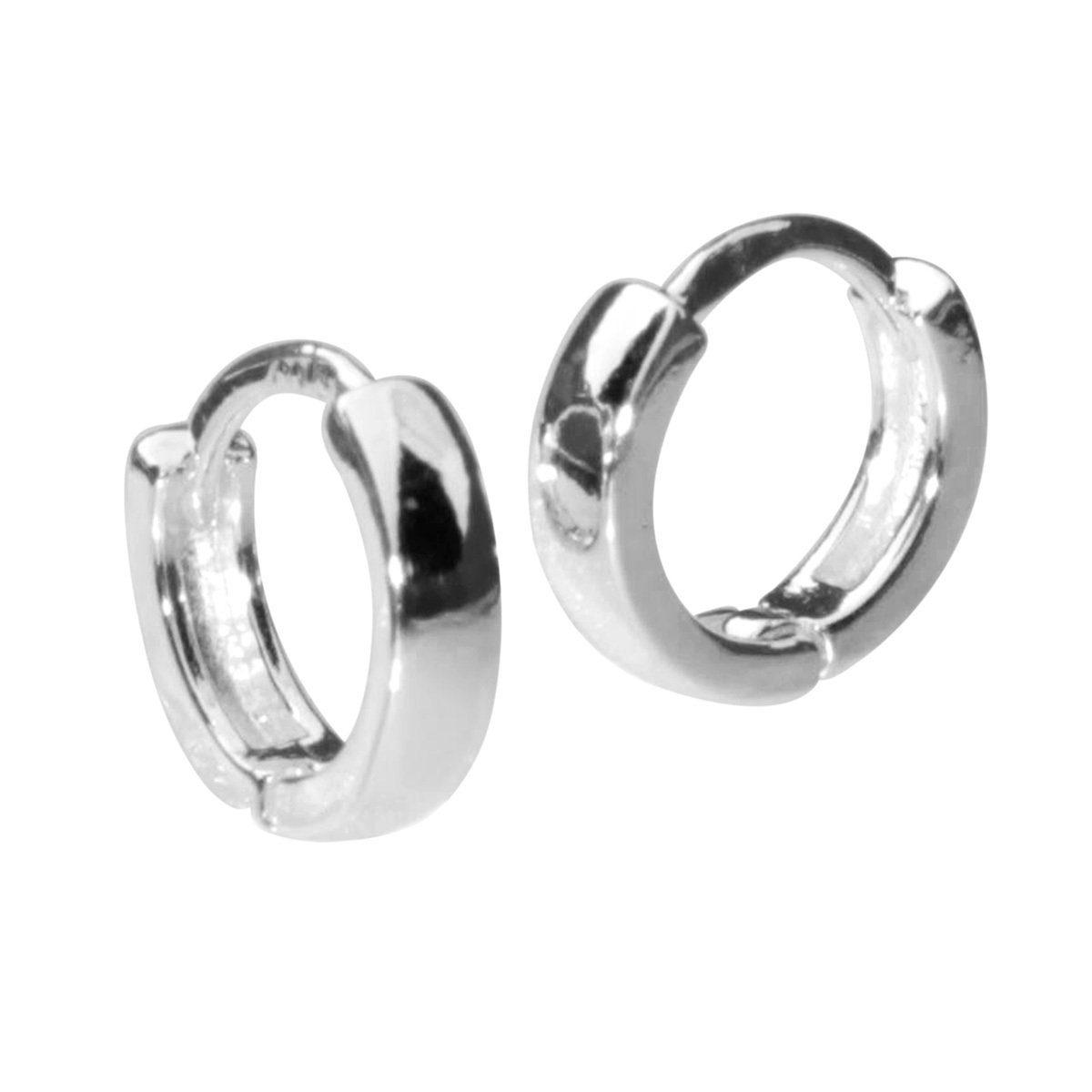 OSTSEE-SCHMUCK Paar Creolen »Babsi 10.25 Silber 925/000«