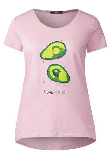 T-shirt Cecil Avec Imprimé Avocat