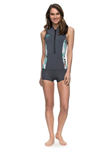Roxy Ärmelloser Shorty-Springsuit mit Front Zip 1mm Sycro Series