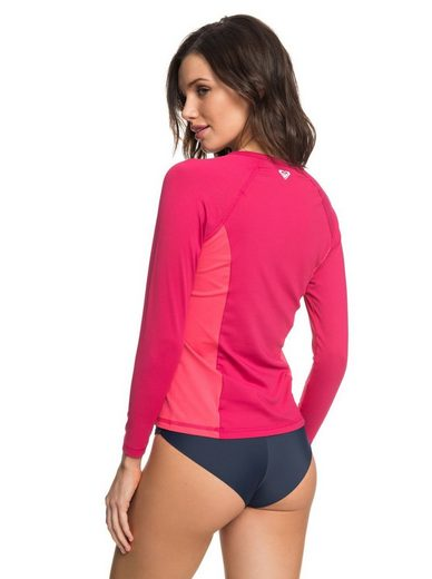 Roxy Langarm UPF 50 Rash Vest On My Board Colorblock
