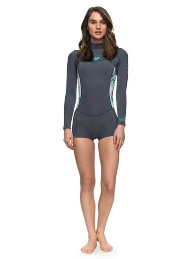 Roxy Long Sleeve Back Zip FLT Springsuit 2mm Syncro Series