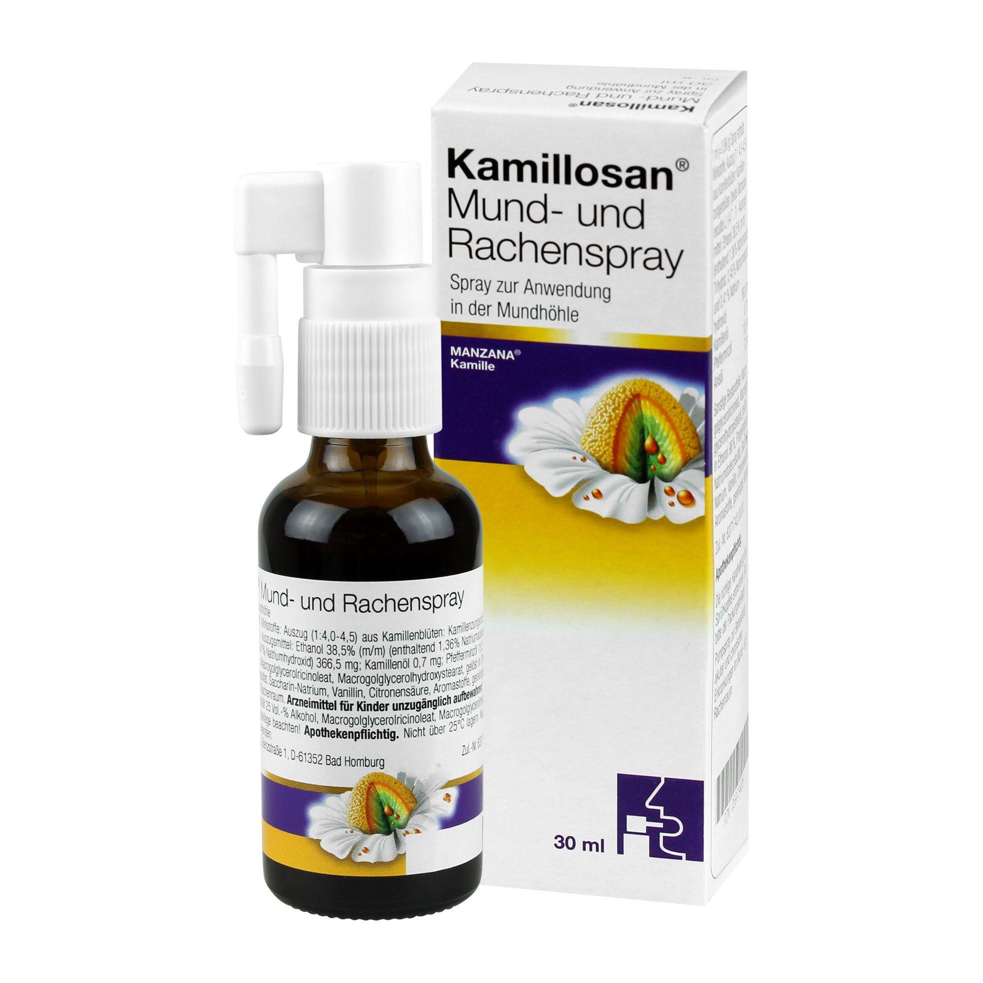 Kamillosan Mund- und Rachenspray, 30 ml