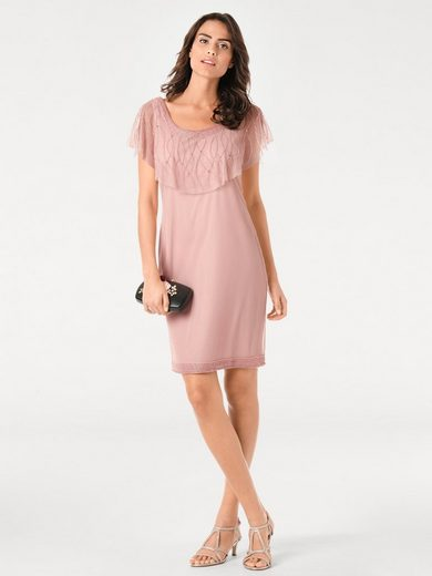Ashley Brooke By Heine Cocktail Dress With Tulle And Applications