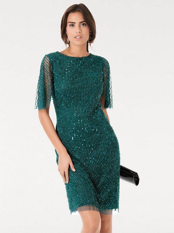 Ashley brooke abendkleid smaragd