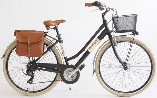 Via Veneto Cityrad »Citybike 615 Alu lady«, 18 Gang, Kettenschaltung