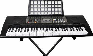 Clifton Keyboard »61-Tasten Keyboard mit LC-Display«, (Set), mit Ständer