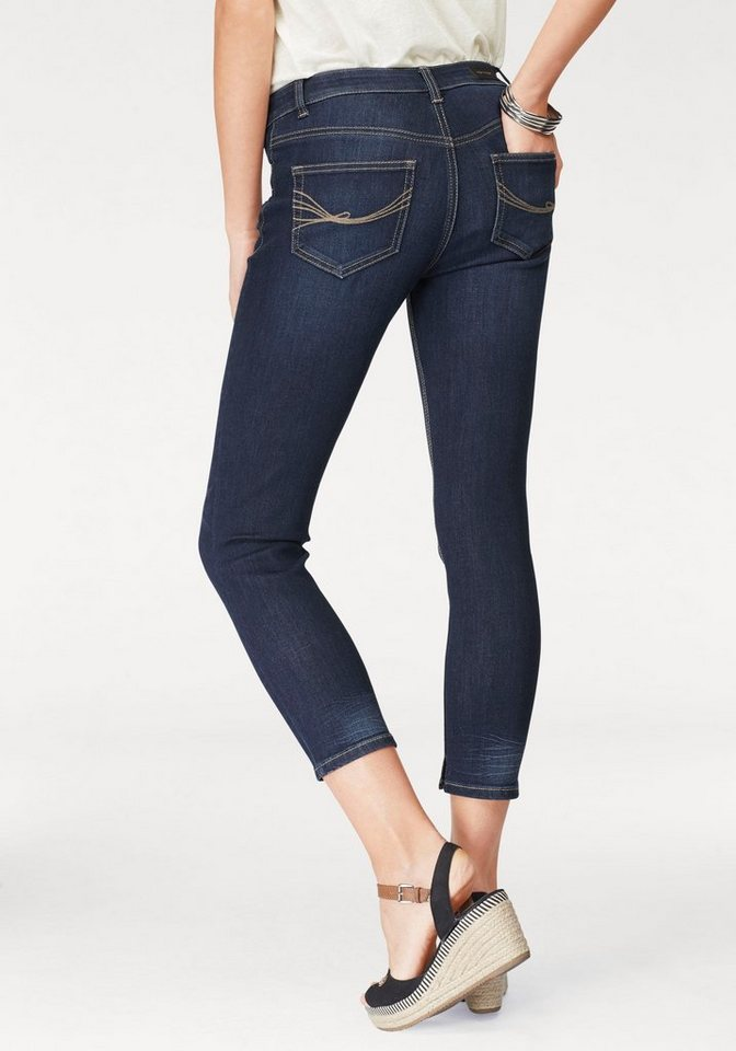 e32a2f9dcbf5a0 TOM TAILOR Stretch-Jeans »Alexa« aus der exklusiven Naomi Campell Kollektion
