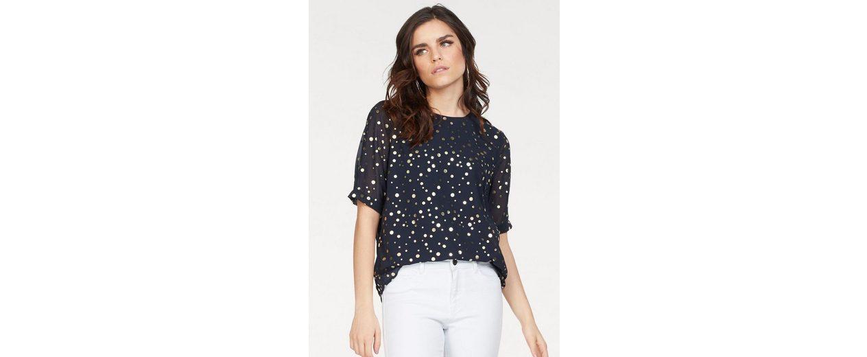 Vero Moda Shirtbluse DIVIA, mit goldenen Punkten