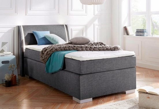 Breckle Boxspringbett, mit LED-Beleuchtung