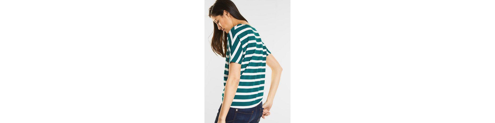 Street One Weiches Streifen-Shirt Gitta Günstig Kaufen Vermarktbare Günstigste Online-Verkauf Für Schön Freies Verschiffen Heißen Verkauf Billig Verkauf Echten hD6G3HK