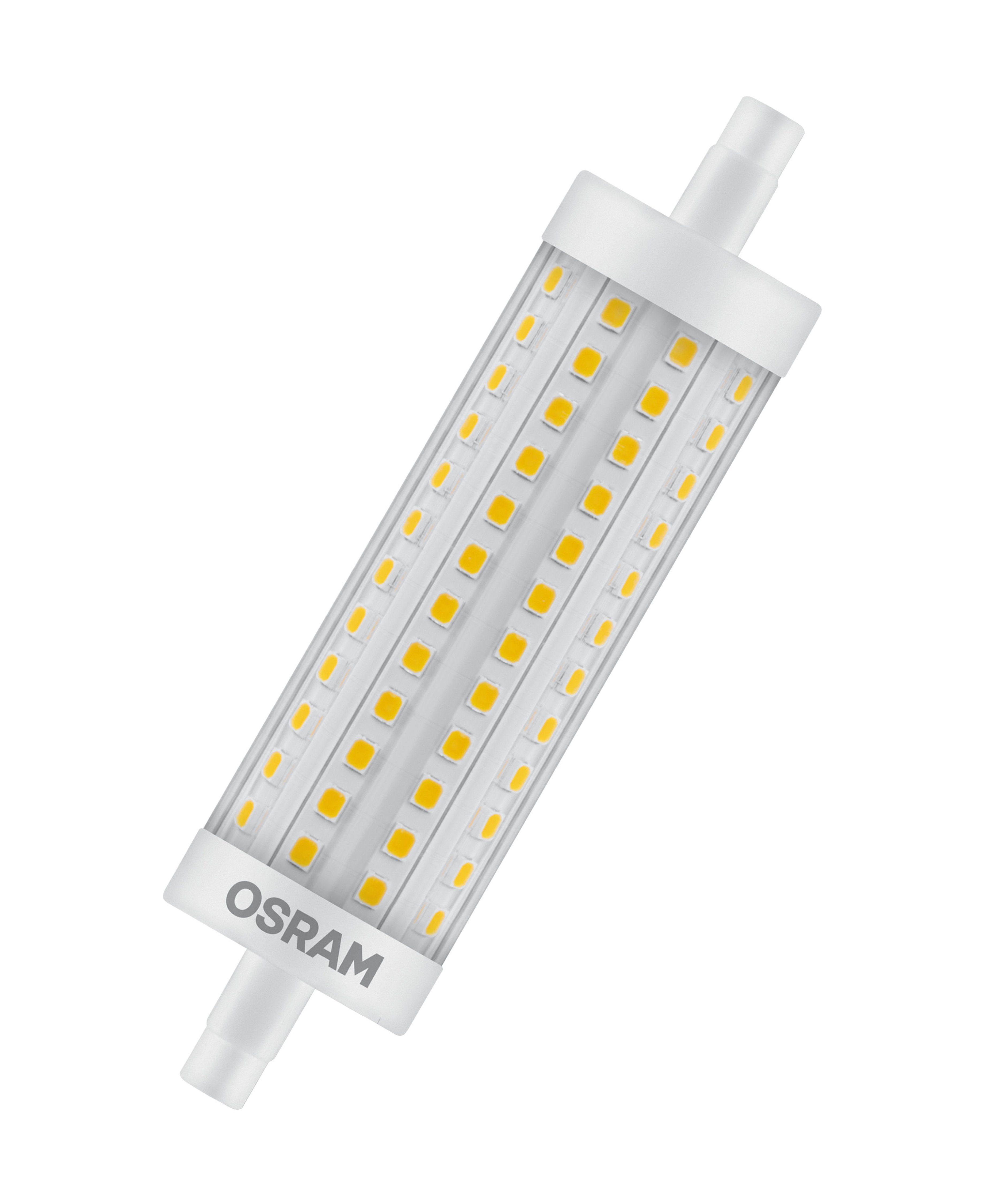 Osram LED STAR LINE R7s, LED-Lampe, LED-Stab »ST LINE R7s 118.0 mm 125 15 W/827 R7s«