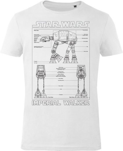 Musterbrand T-Shirt »Imperial Walker« Star Wars Kollektion