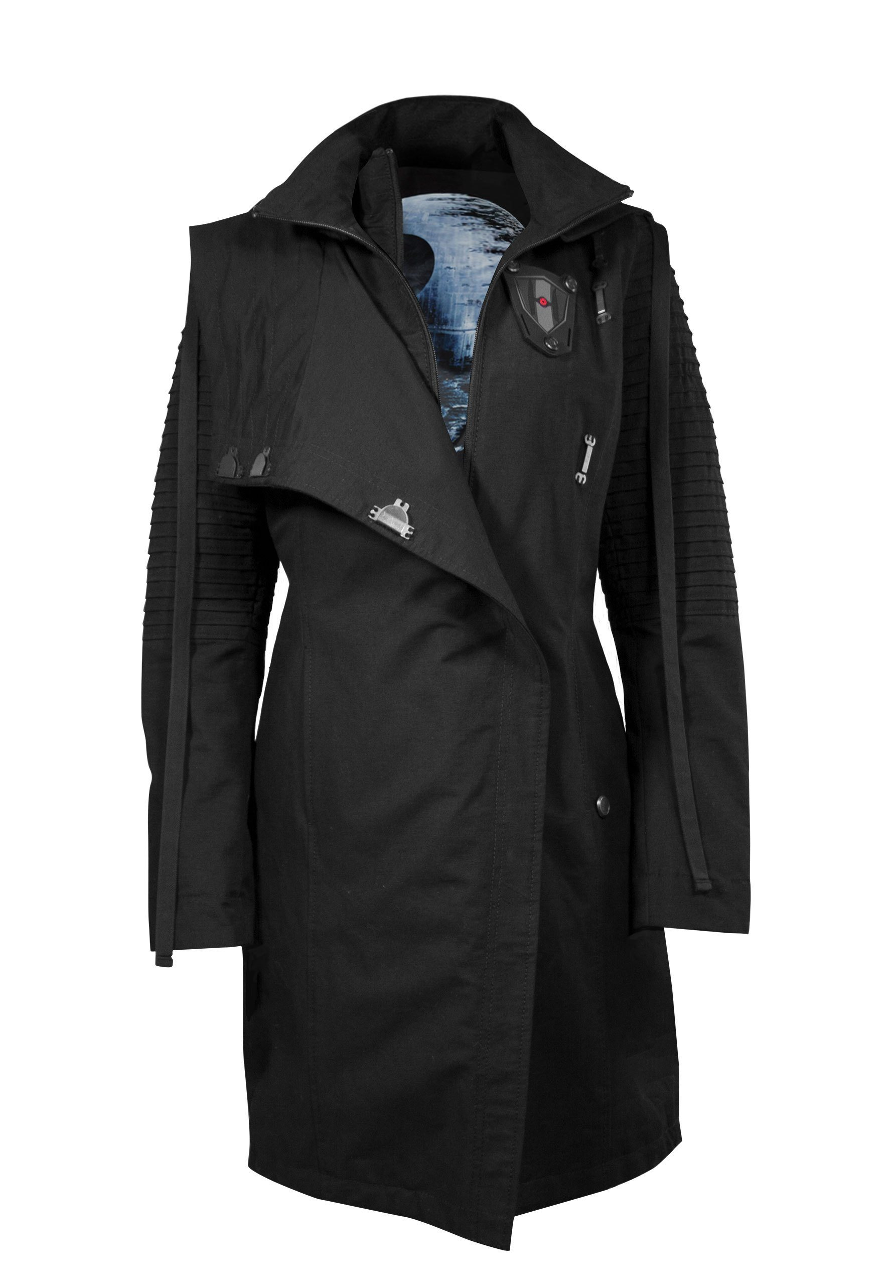 Musterbrand Trenchcoat »Sith Lady Limited Edition« Star Wars Kollektion | Bekleidung > Mäntel > Trenchcoats | Musterbrand