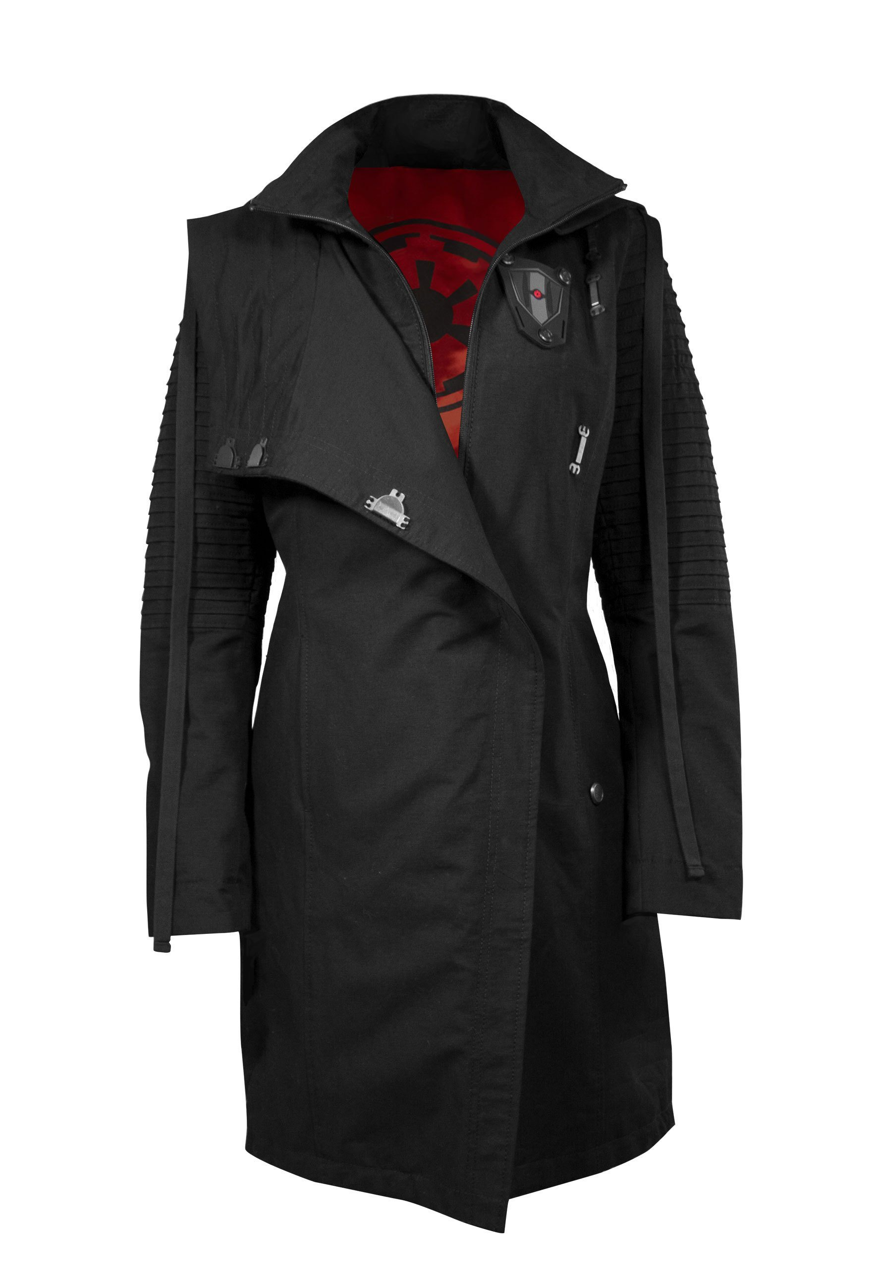 Musterbrand Trenchcoat »Sith Lady« Star Wars Kollektion | Bekleidung > Mäntel > Trenchcoats | Musterbrand