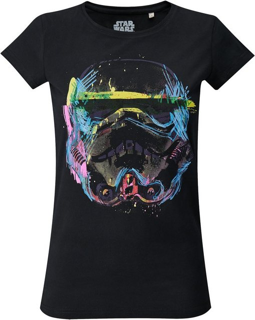 Musterbrand T-Shirt »Imperial Stormtrooper NEON Sketch Art« Star Wars Kollektion