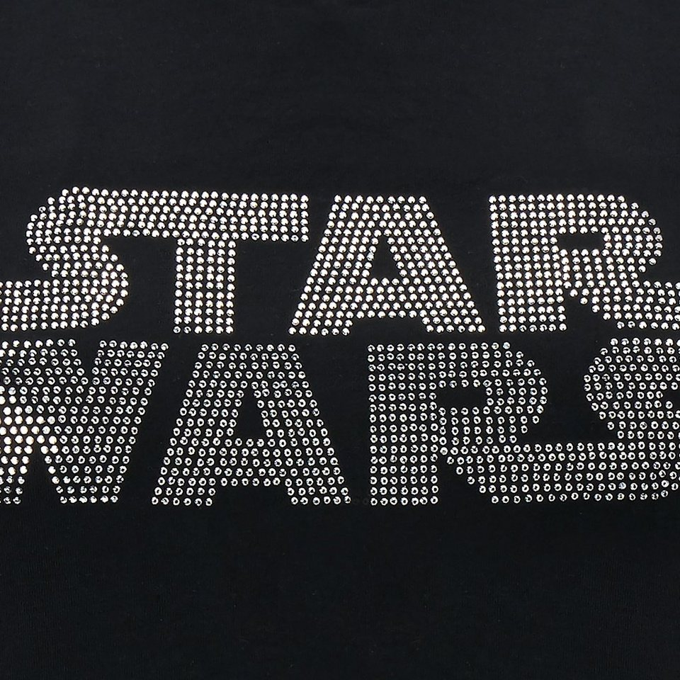 Musterbrand T-Shirt »Black Bling« Star Wars Kollektion