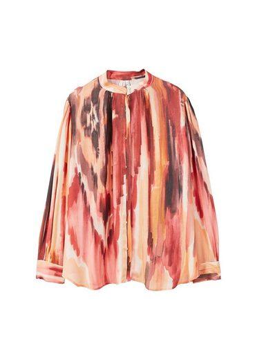 MANGO Bedrucktes, fließendes Hemd