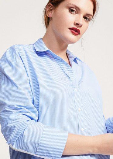 VIOLETA by Mango Hemd mit feinen Streifen