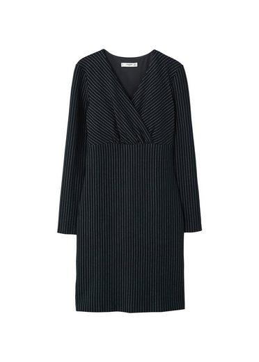 MANGO Gestreiftes Kleid