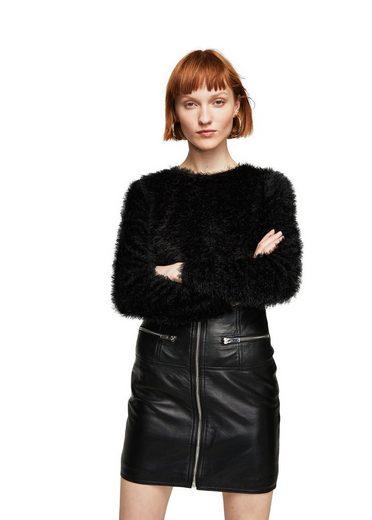 MANGO Strukturierter Pullover