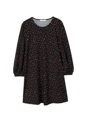 MANGO Fließendes Print-Kleid