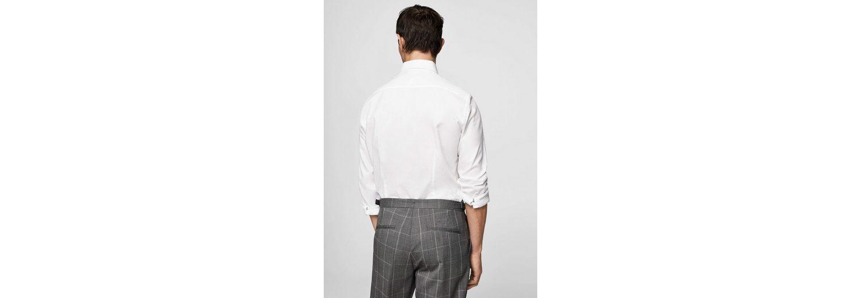 MANGO MAN Strukturiertes Slim Fit Tailored-Hemd 100% Garantiert Wiki Verkauf Online F7bdOFXOV