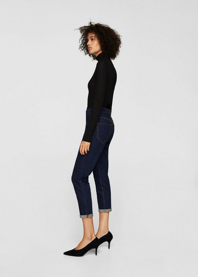 Damen MANGO Boyfriend Jeans Jack blau | 08433248505471
