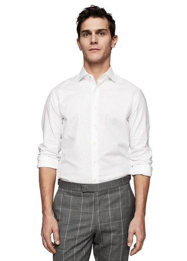 MANGO MAN Strukturiertes Slim Fit Tailored-Hemd