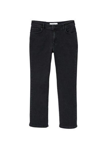 MANGO Straight Jeans Jandri aus Bio-Baumwolle