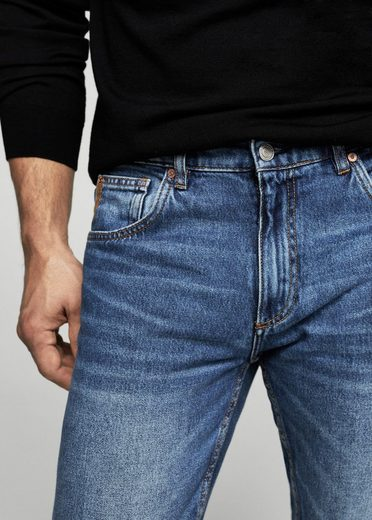 Mango You Straight-fit Jeans Bob Medium Waschung