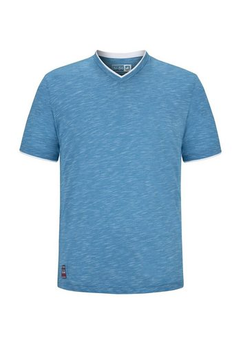 Herren Jan Vanderstorm V-Shirt ERTTO blau | 04056916274185