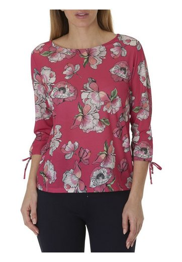 Betty & Co Blouse With Short Sleeves With Trendy Floral Print