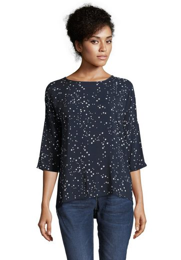 Cartoon Shirt mit Sternenprint